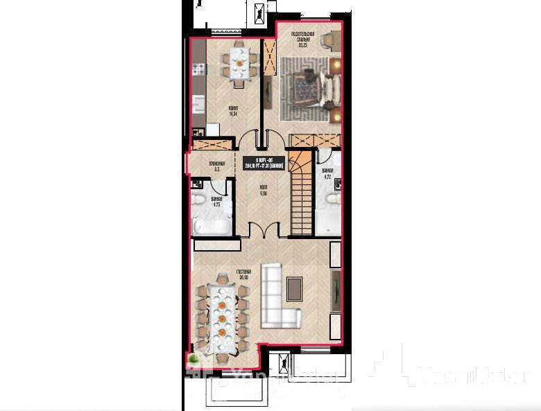 6 - комнатная